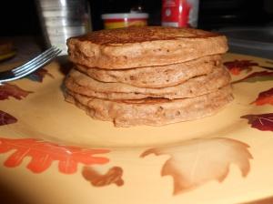 Yummy apple cinnamon pancakes.