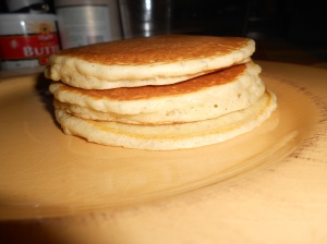 Pumpkin Spice made the pancakes twice as nice.  (I'm sorry, I couldn't resist the rhyme)