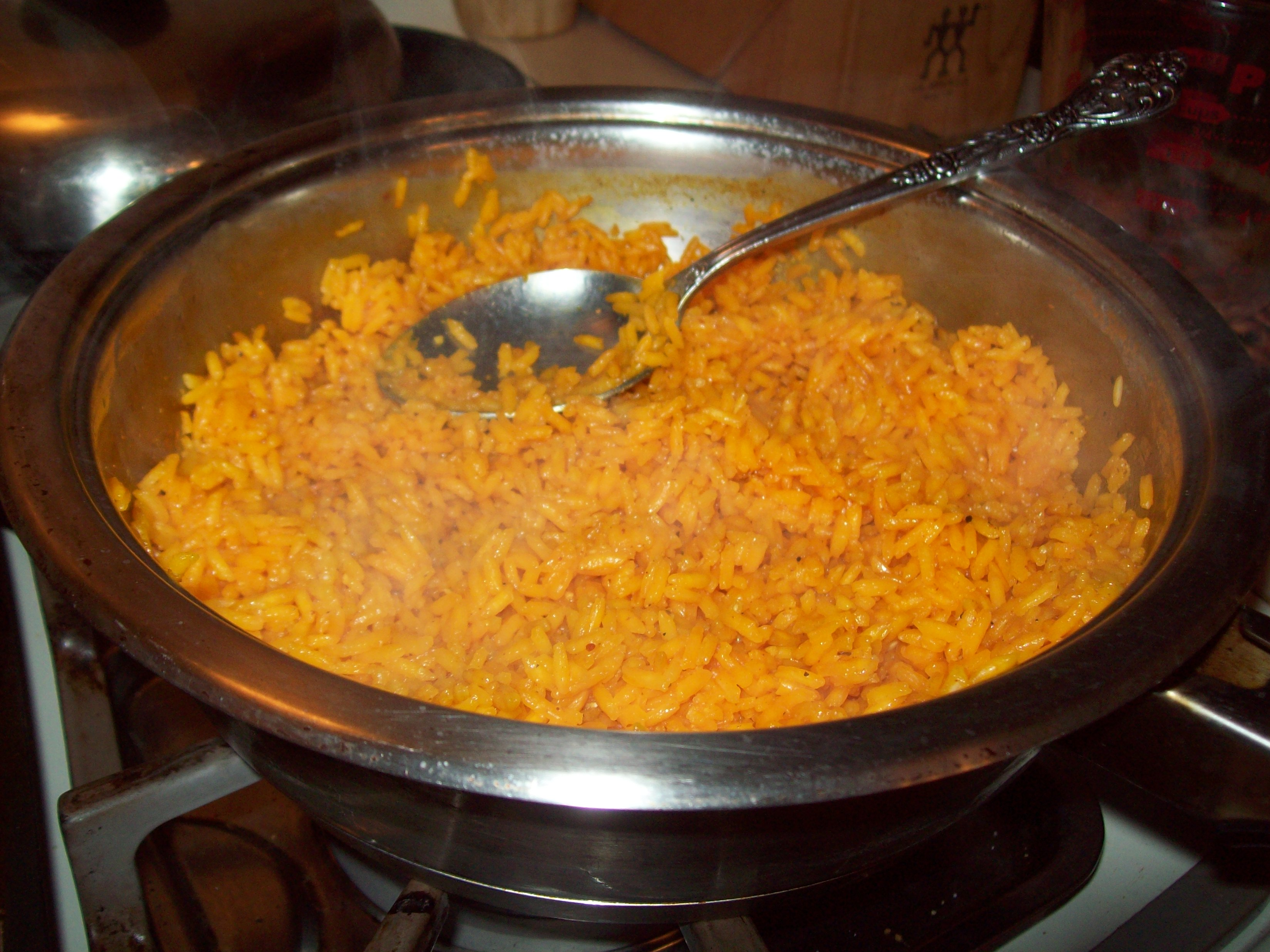 Cheat Codes: How to Make Quick Yellow Rice / Spanish Rice | The Poor ...