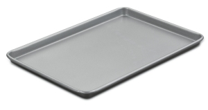 The rim will make sure your batter doesn't go all over the place and burn in the bottom of your oven.