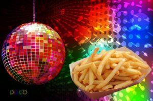 These are also disco fries, but not the ones you'll be making.