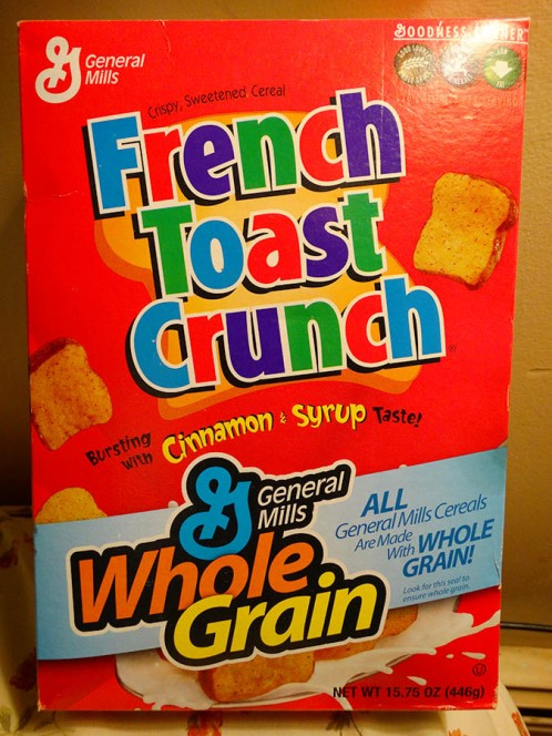 Original French Toast Cunch circa 2005.