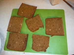 See?  Loaf slices.