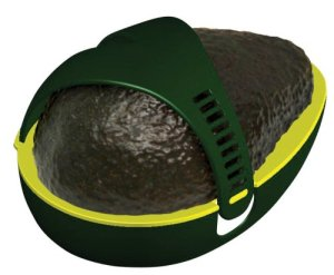 It's like a sandal for your avocado I guess.